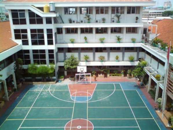 lingkungan sekolah sma