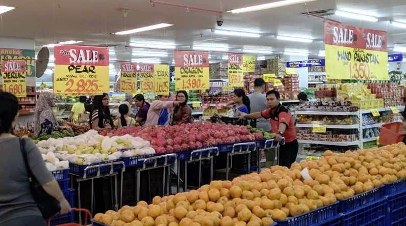 pasar supermarket