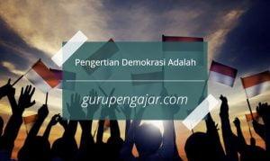 demokrasi adalah