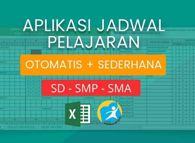 Aplikasi Jadwal Pelajaran Otomatis (SD, SMP, SMA)