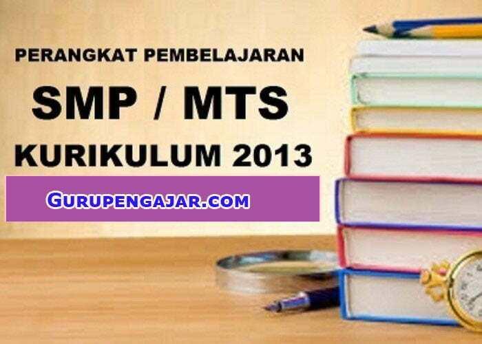 Detail RPP SMP /MTS Kurikulum 2013
