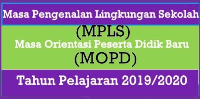 Juknis MPLS 2019 2020 Untuk SD SMP SMA SMK