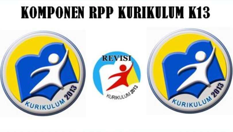 Komponen dalam Pembuatan RPP Revisi Terbaru K13