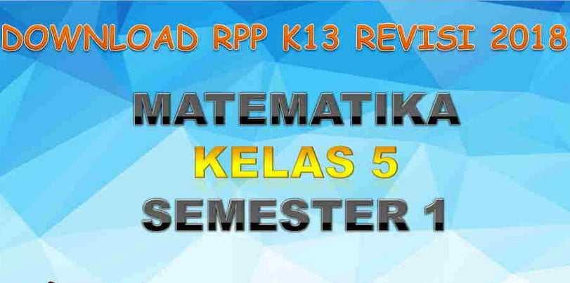 Riview RPP Matematika Kelas 5