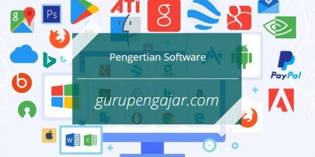 pengertian software