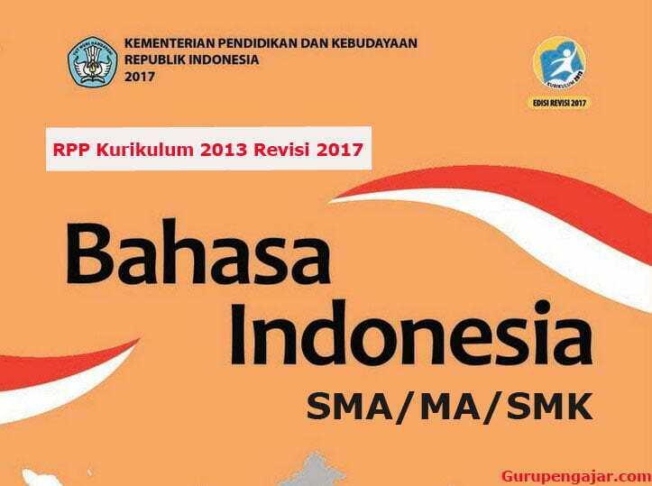 RPP Bahasa Indonesia SMA K13 Revisi 2017 Doc-PDF