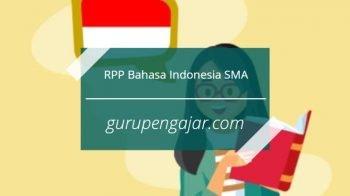 RPP Bahasa Indonesia SMA K13 Revisi 2017
